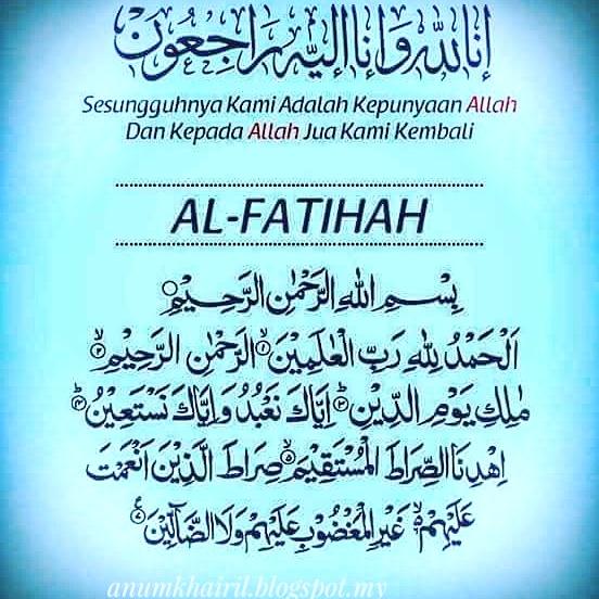 AYO  BACA ALFATIHAH DULU AGAR BERKAH !!!