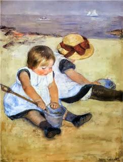 """http://4.bp.blogspot.com/-jXjFX50sMHE/UmPeYNs62MI/AAAAAAAABkg/qMi7Yazl4A8/s1600/Mary+Cassatt's+""""Children+Playing+on+the+Beach"""".jpg"""