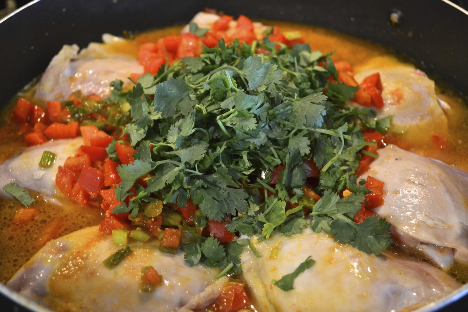 """Point-less"""" Meals: Sofrito Chicken Stew"""