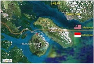 Maps of Sebatik Island