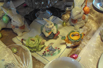 The Victorian Rabbit Tablescapes