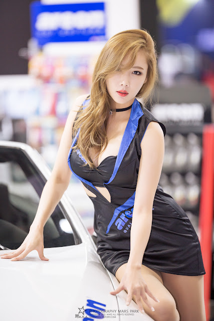 3 Seo Aran - Automotive Week 2015 - very cute asian girl-girlcute4u.blogspot.com