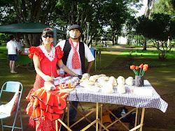 ´Todos os sábados...Na praça... produtos da alta gastronomia Mediterrânea Espanhola Don Qvixote