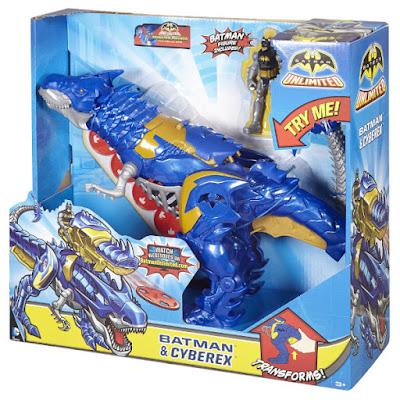 JUGUETES - BATMAN Unlimited  Batman & Cyberex | Figuras - Muñecos  Producto Oficial 2015 | Mattel CJV77 | A partir de 3 años Comprar en Amazon