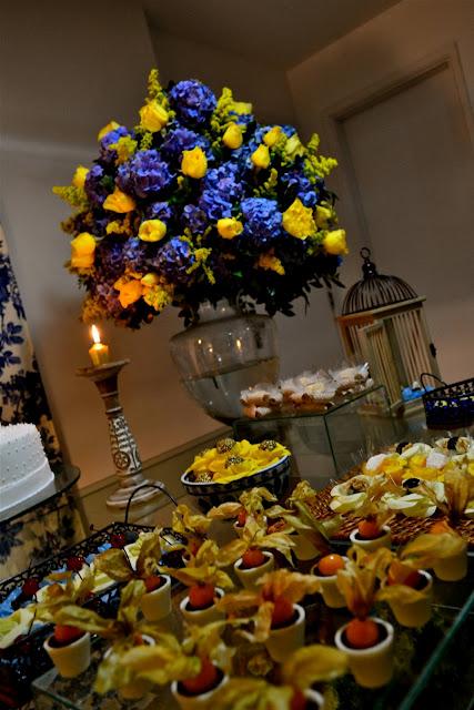 decoracao azul e amarelo casamento : decoracao azul e amarelo casamento:Casada e Apaixonada: Decoração Azul e Amarelo