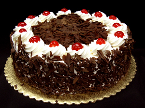 Learn the recipe for a delicious Black forest 's house one day become ...