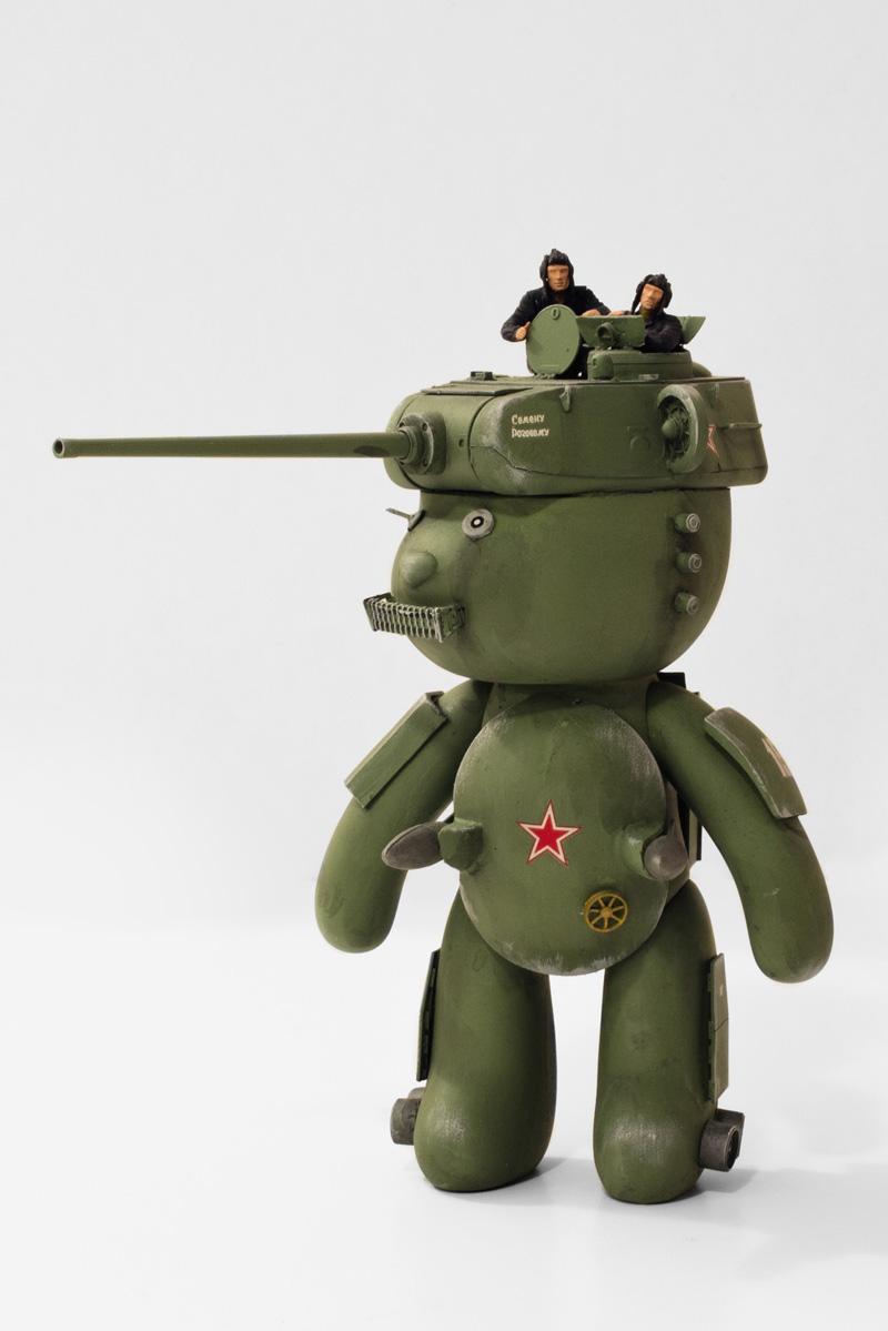 Nenad Dodic: (War Bears) Teddy Mechas en la WW2 | LasMilVidas