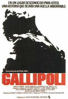 Película que recrea la batalla de la península de Gallipoli o de los Dardanelos, en Turquía