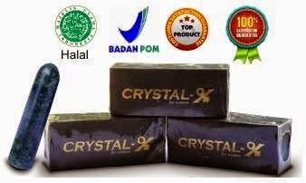 MANFAAT CRYSTAL X ASLI