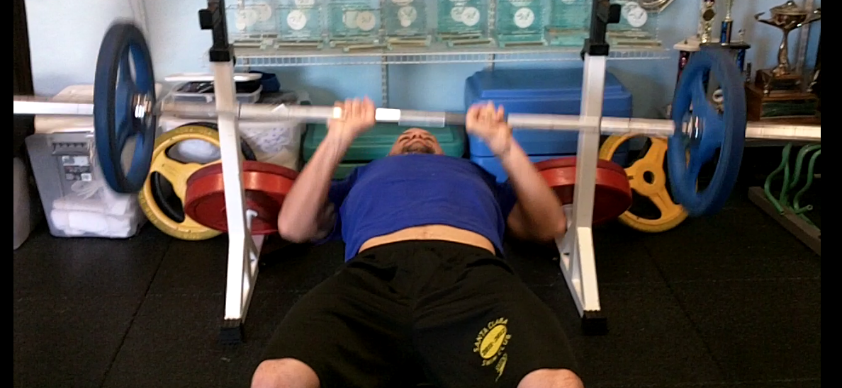 Form are the most important ascepts when bench pressing bad technique