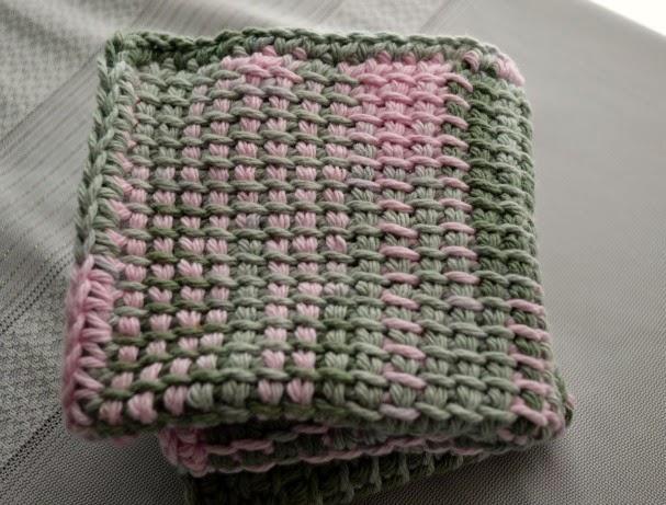 Crochet Dynamite Tunesian Crochet Washcloth