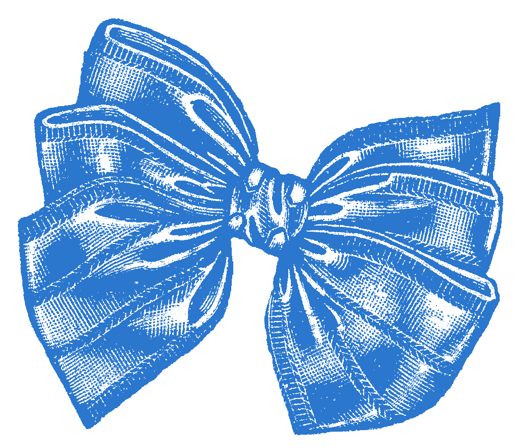 The Graphics Monarch: Vintage Gift Bow Design ...
