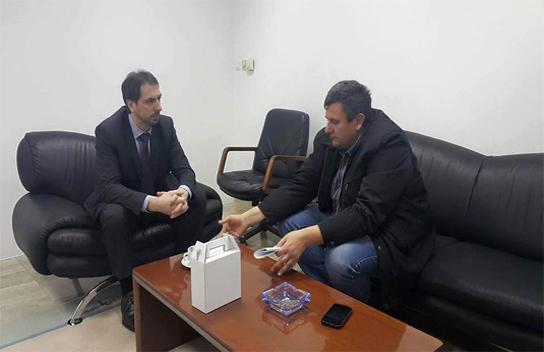 Predsjednik Federacije BiH Marinko Čavara razgovarao s predsjednikom Udruge poljodjelaca ŽZH Dubravkom Vukojevićem