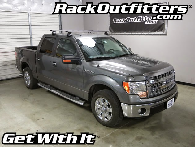 Rack Outfitters Ford F 150 Super Crew Thule Rapid