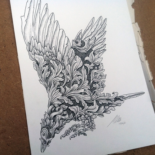 09-Bird-Muthahari-Insani-Beautifully-Detailed-Ink-Drawings-and-Doodles-www-designstack-co