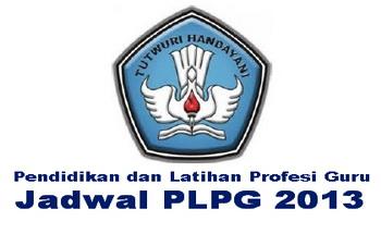 Jadwal PLPG 2013