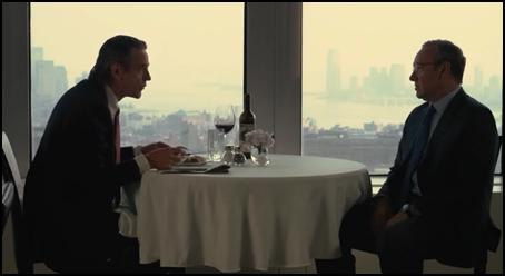 cena de negocios en margin call