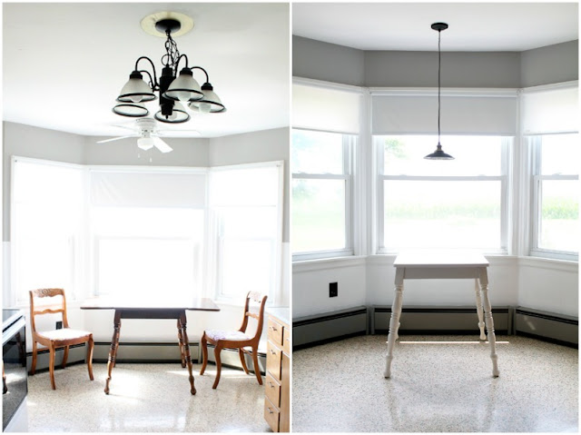 White Table Makeover