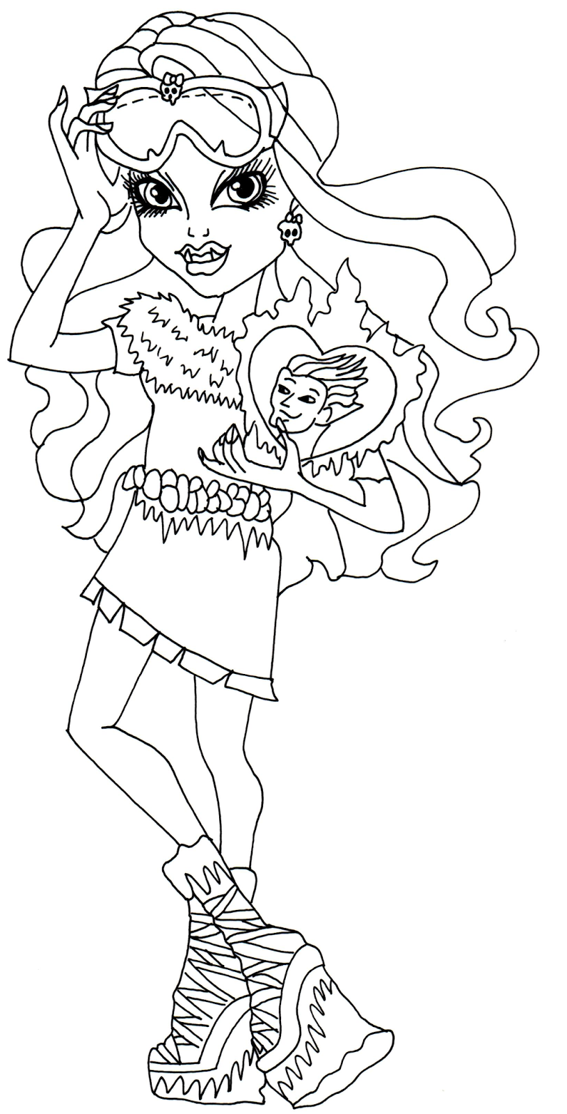 abbey bominable coloring pages - photo#5