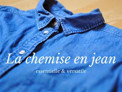 La chemise en jean : indispensable