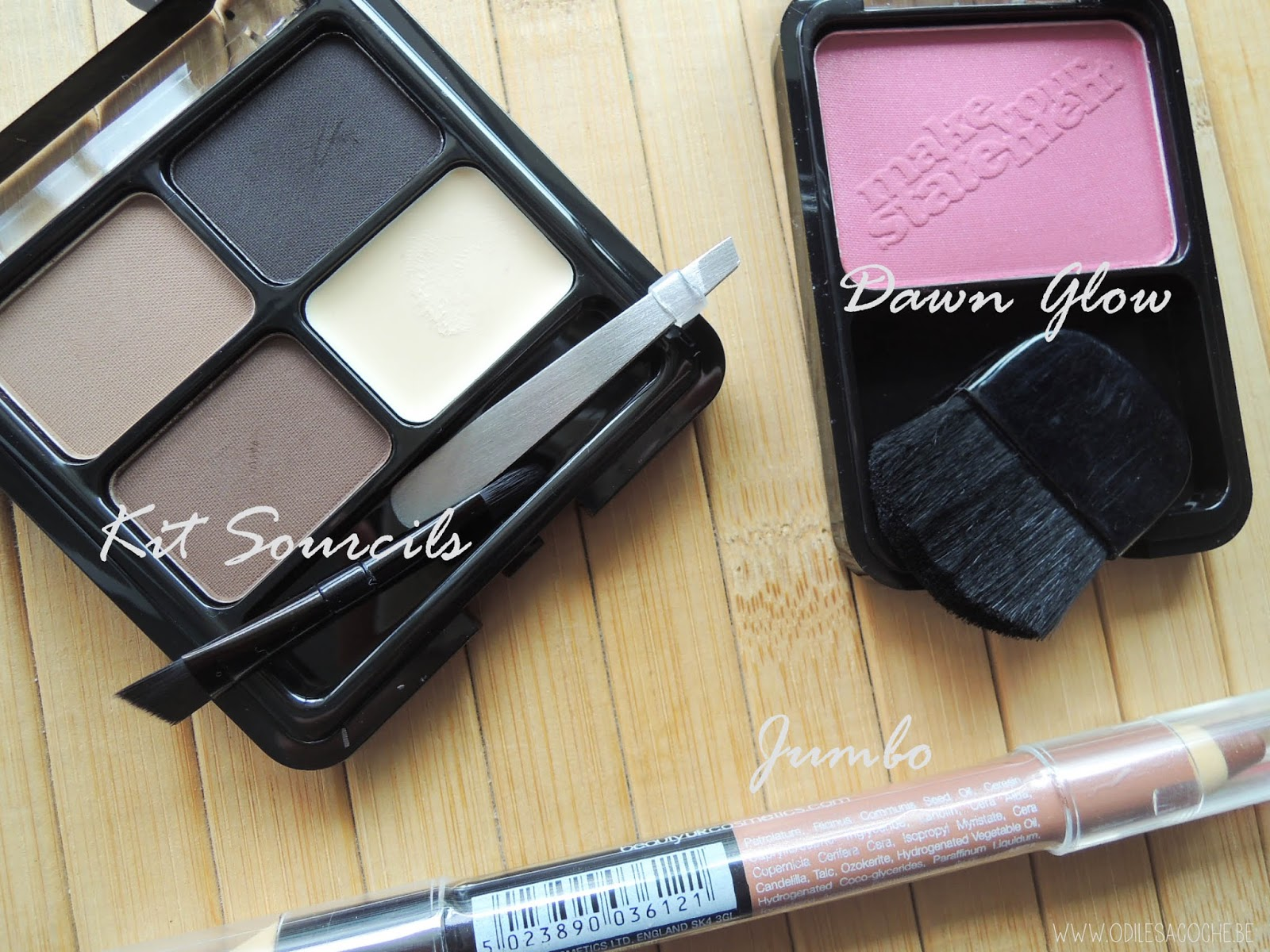 kit sourcil blush jumbo
