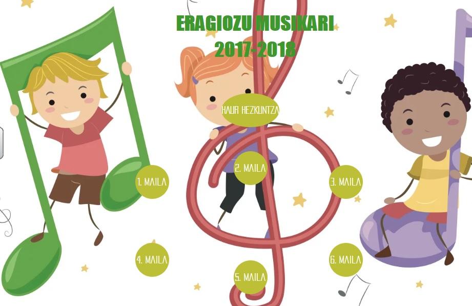 ERAGIOZU MUSIKARI 2017-2018