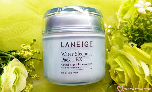 LANEIGE Water Sleeping Pack_EX Review Pinkuroom