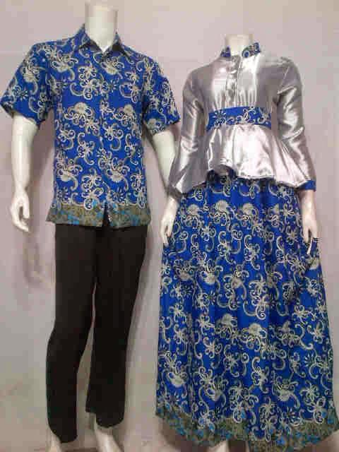 Baju Gamis Batik Modern Motif Cumi Batik Bagoes Solo