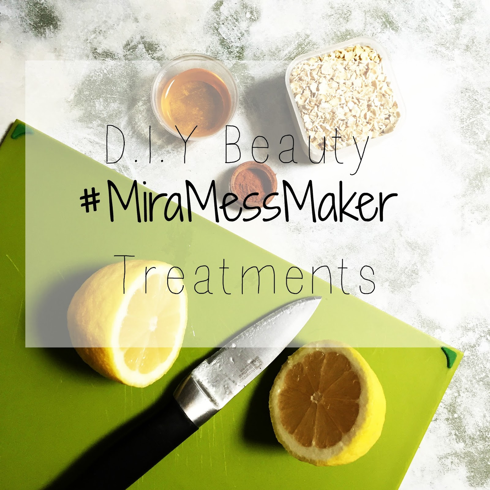 Beauty| #MiraMessMakers Easy Beauty Recipes
