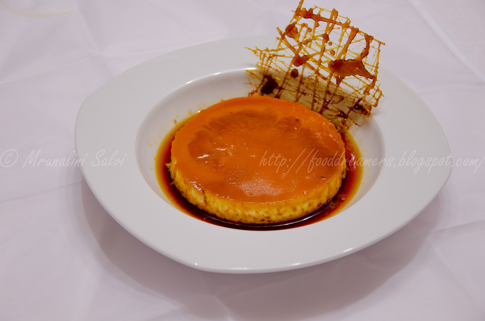 Food dreamers: Caramel custard