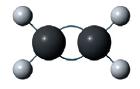 Enlace doble del carbono eteno