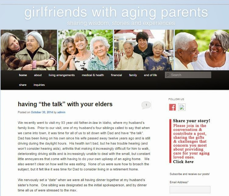 Caring For Aging Parents For Their Aging Parents