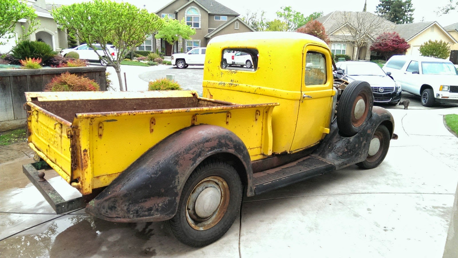 Daily Turismo: Seller Truckmission: 1936 Dodge 1/2 Ton Pickup