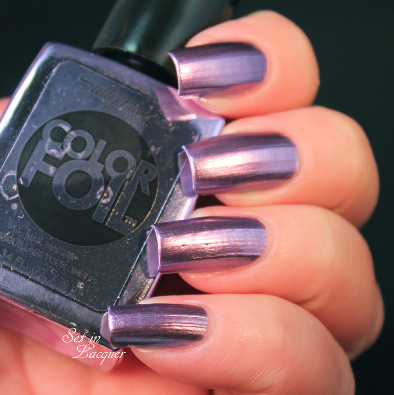 Sally Hansen Purple Alloy