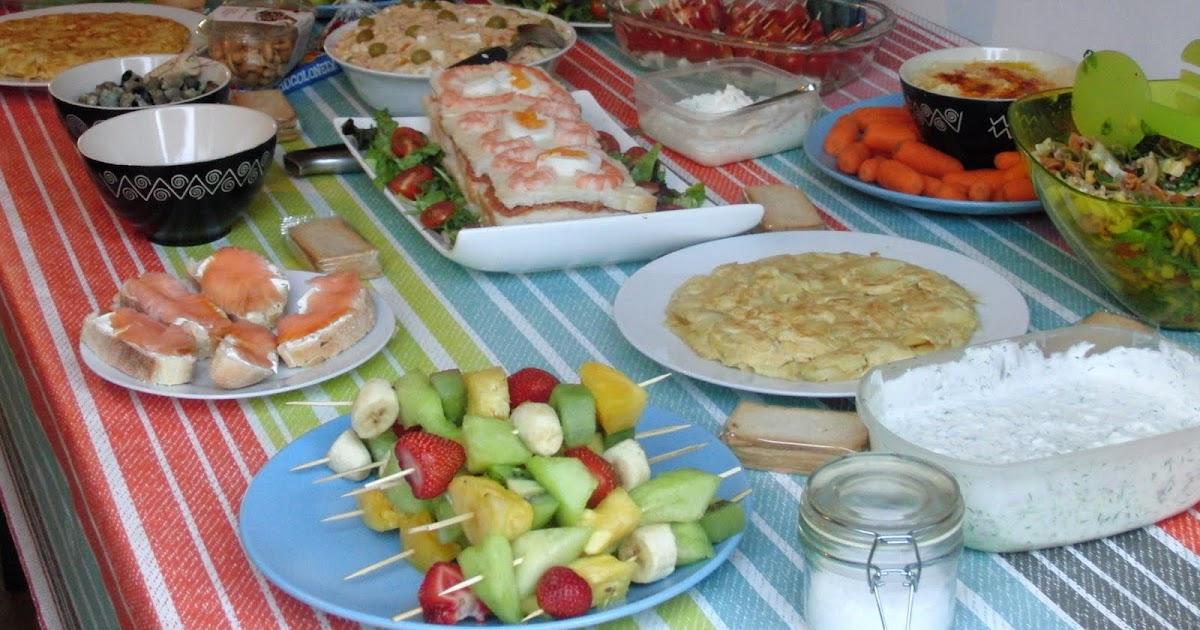 ideas comida cumplea os adultos