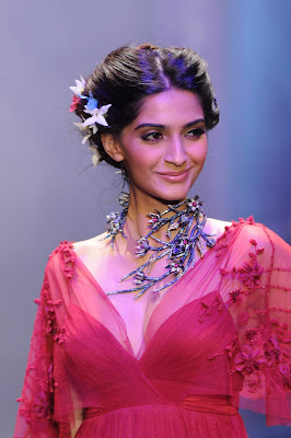 beautiful sonam kapoor very gorgeous on the ramp