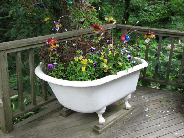 Riciclo creativo green design pescara loves fashion - Comporre un giardino ...