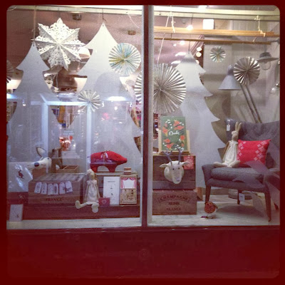Willow and Stone Christmas Window