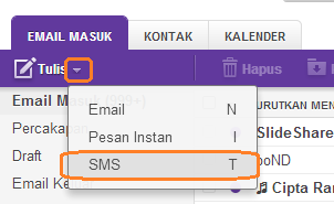 Cara Kirim SMS Gratis Melalui Yahoo Mail atau Yahoo Messenger