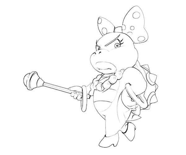 Koopa Coloring Pages