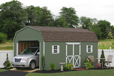 big car full size garages for kits two ideas packages pa lowes of prefab garage