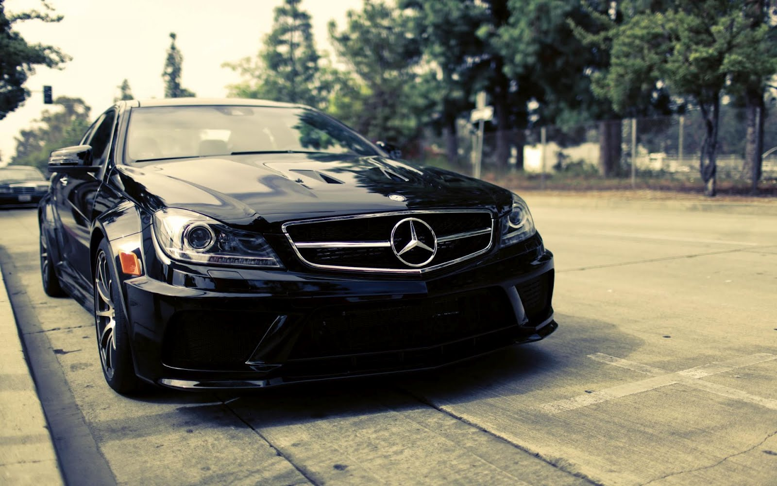 Mercedes Benz C63, HD Wallpaper