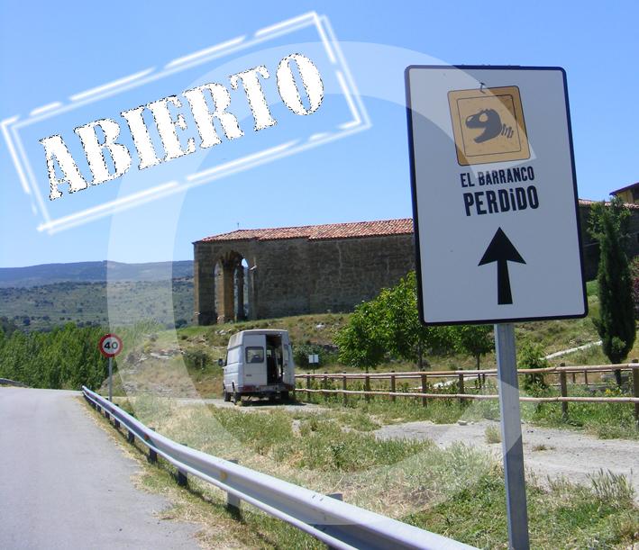 Barranco Perdido Abierto desde el 28 de mayo