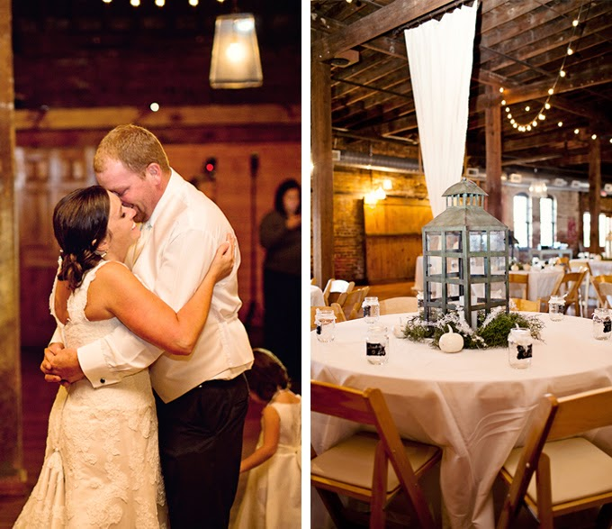 Rustic Cotton Warehouse Wedding: Steffany & Eric