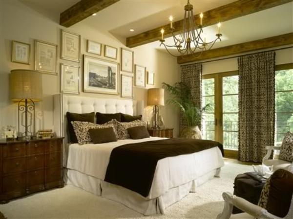 Interior design manazine for Tuscan bedroom design