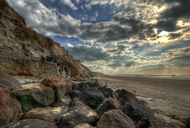 photo plage hdr, photo plage medoc, photo plage gironde, photo plage montalivet, photo hdr fabien monteil