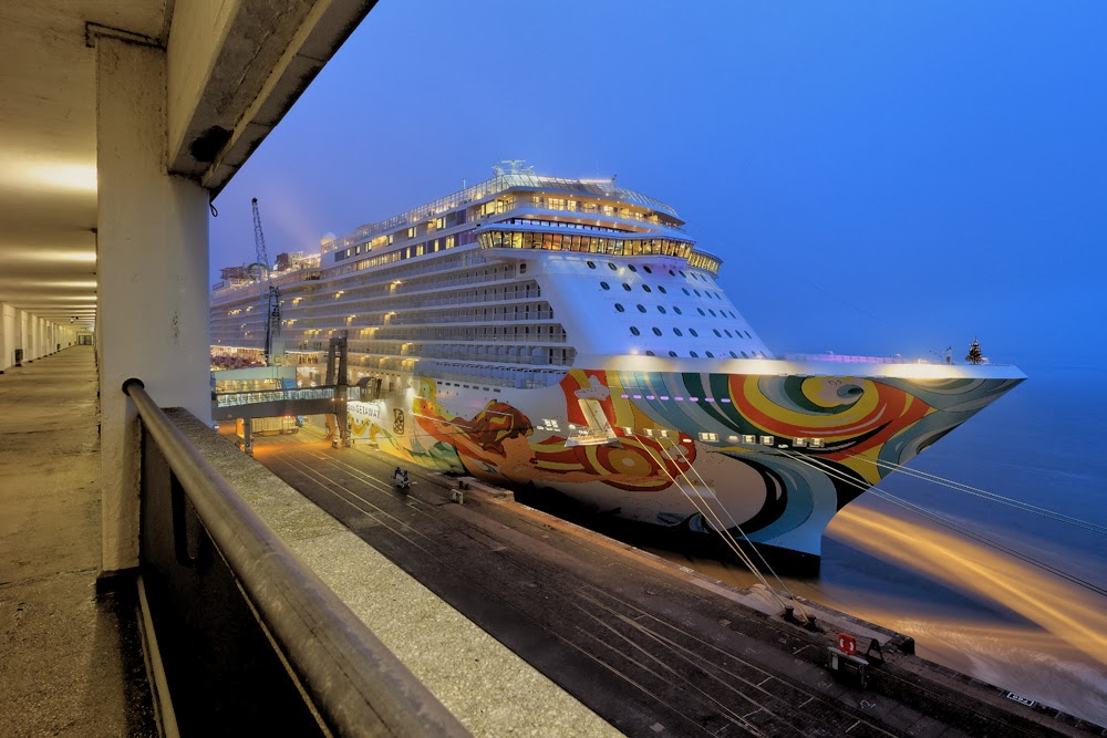 ships, technology, norwegian getaway, largest cruise ship, information technology,