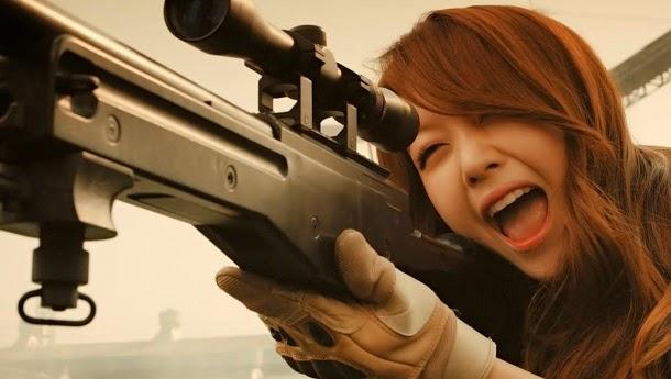 E se o combate real fosse como nos shooters online? (com video)