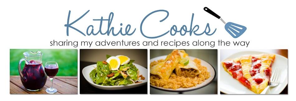 Kathie Cooks...