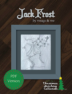 meags and me Jack Frost stitchery pattern